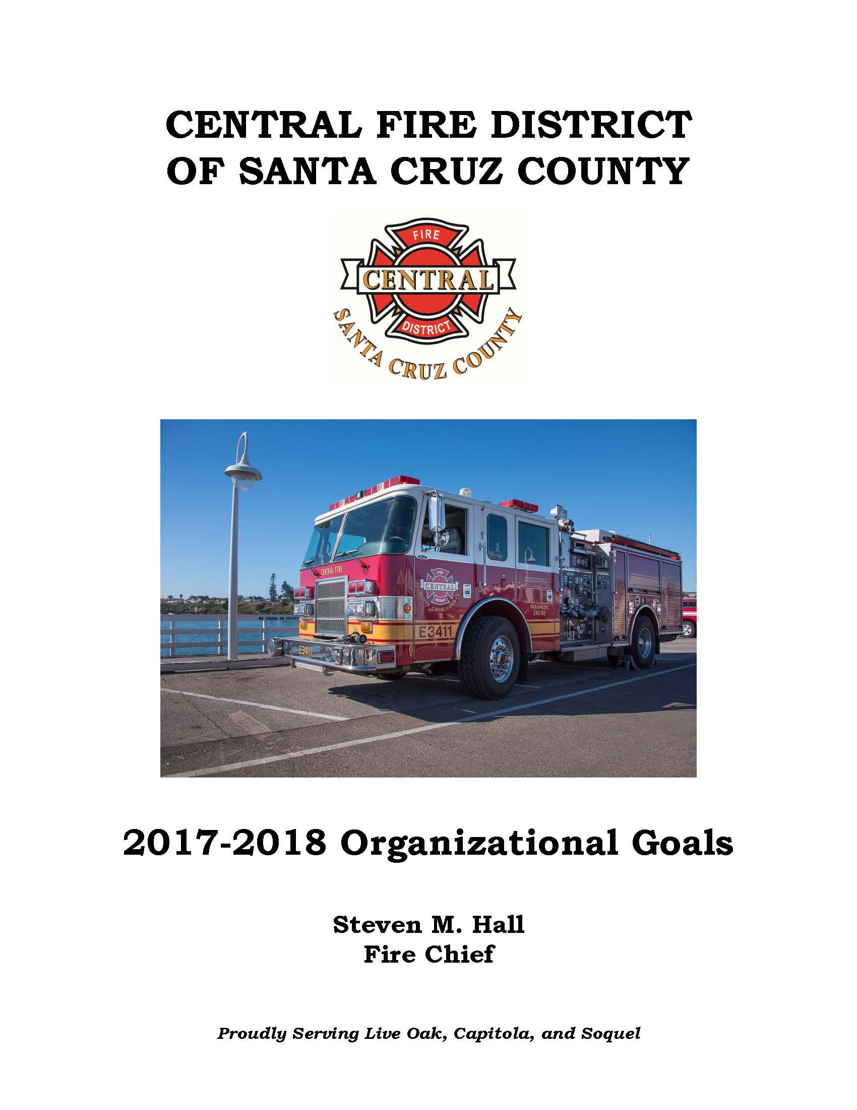 2017-2018 District Goals Coverpage