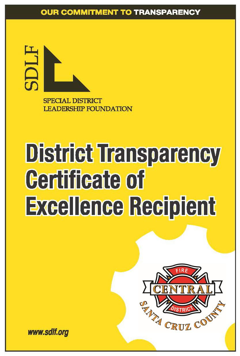 Transparency Certificate Window Cling