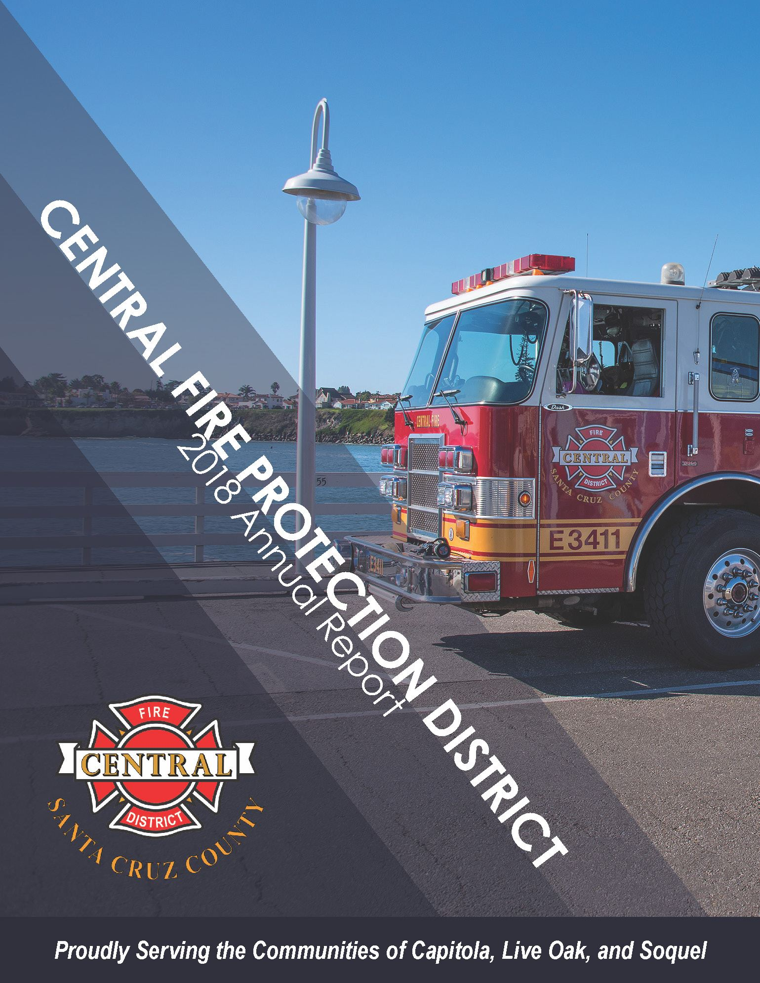 Cover_ 2018 Central Fire Protection District Annual Report