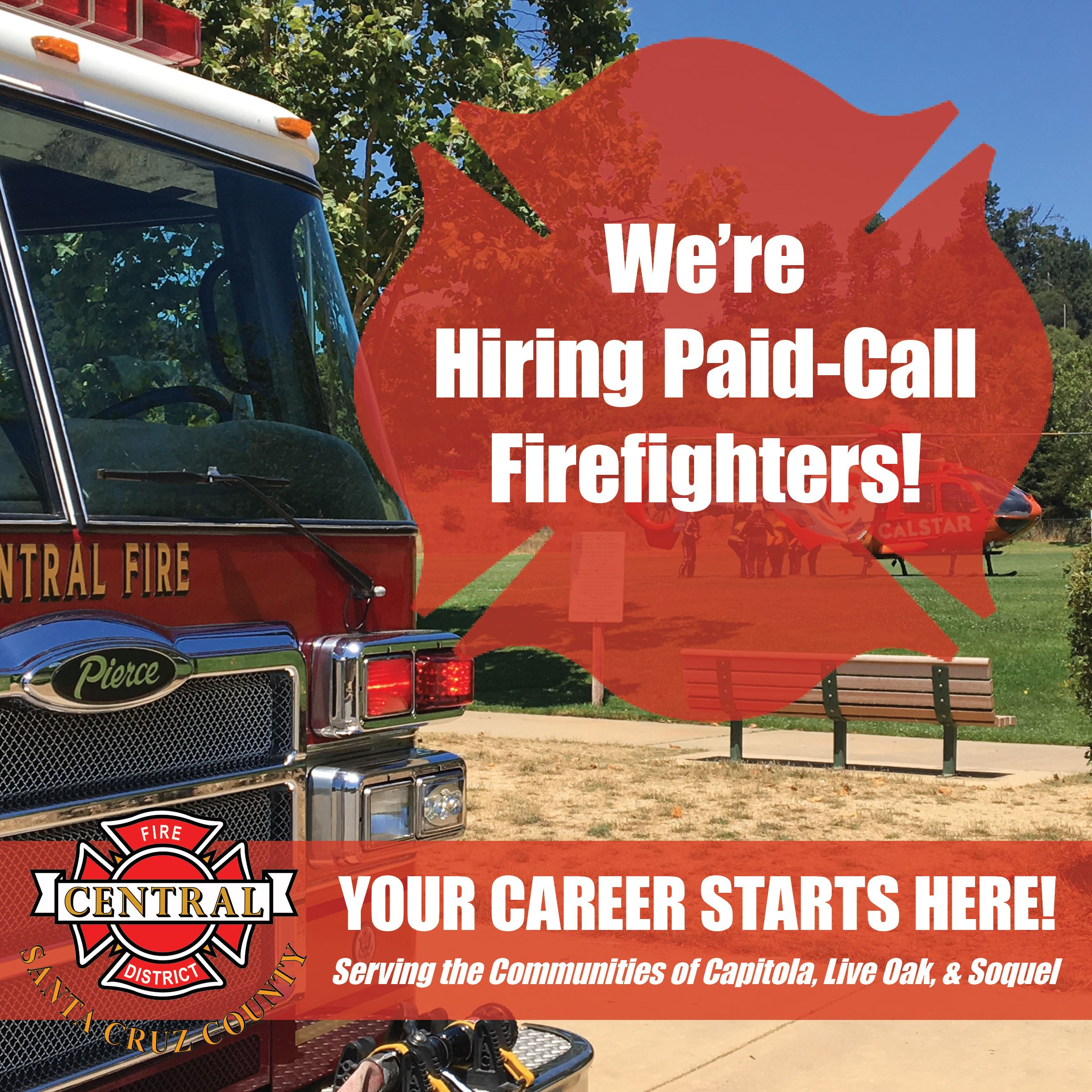 Paid-Call Firefighter Hiring