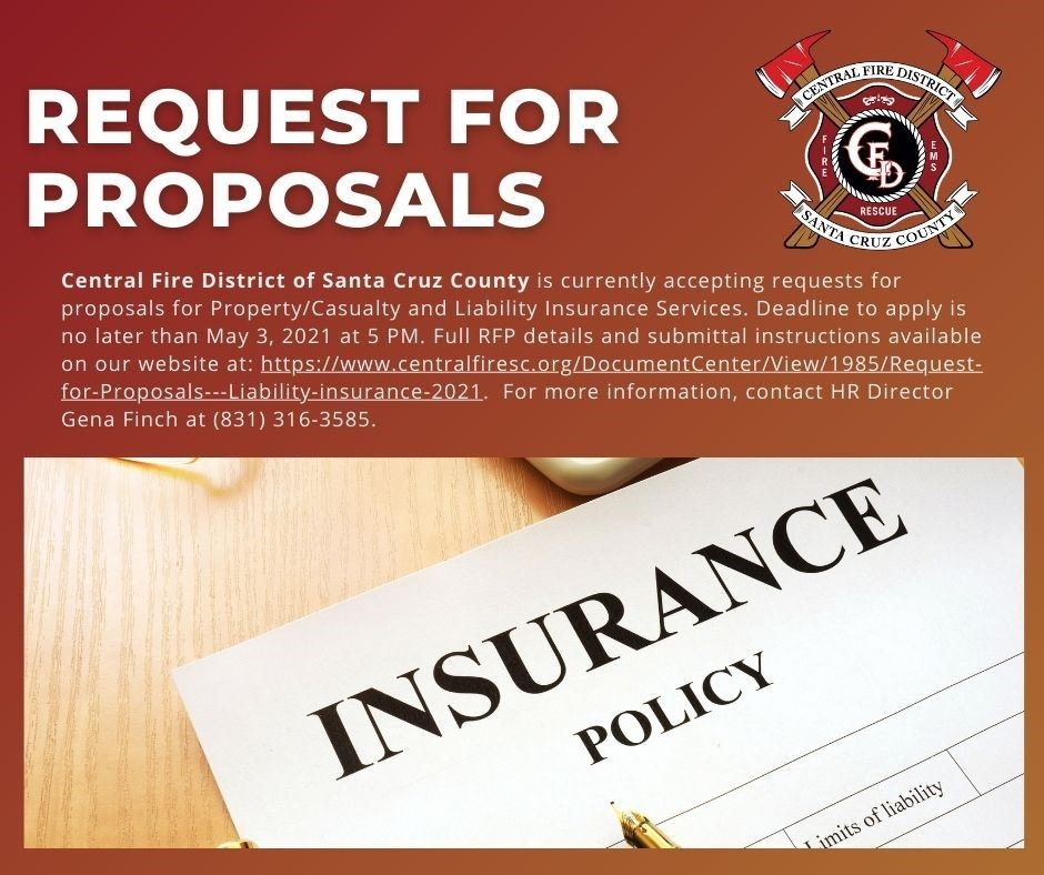 REQUEST FOR PROPOSALS - Liability Insurance