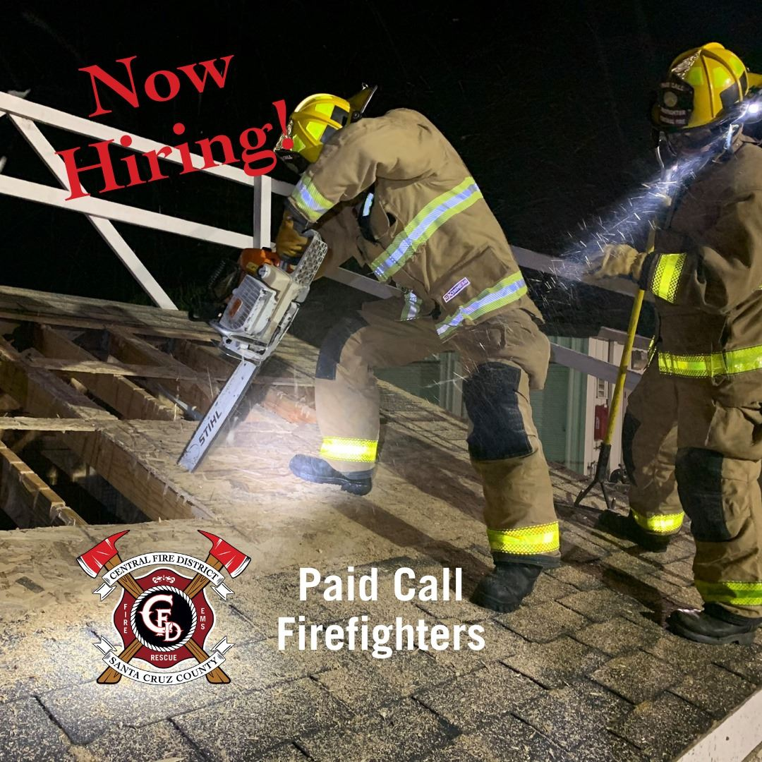 Hiring Paid Call Firefighters