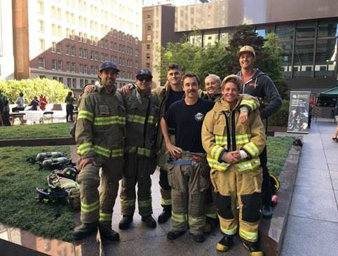 2018 Stair Climb Team